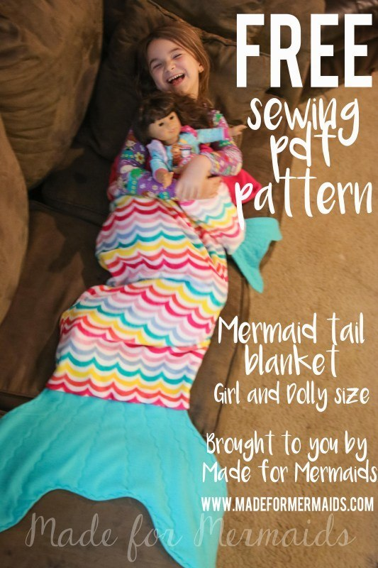 how to make a mermaid tail for kids