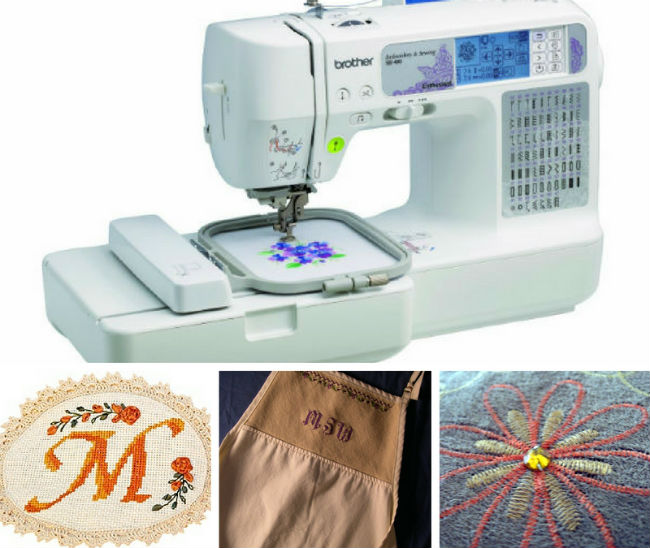 Best Beginner Sewing Machines For Embroidery Sew Uber Beauteous Brother Sewing And Embroidery Machine Se400