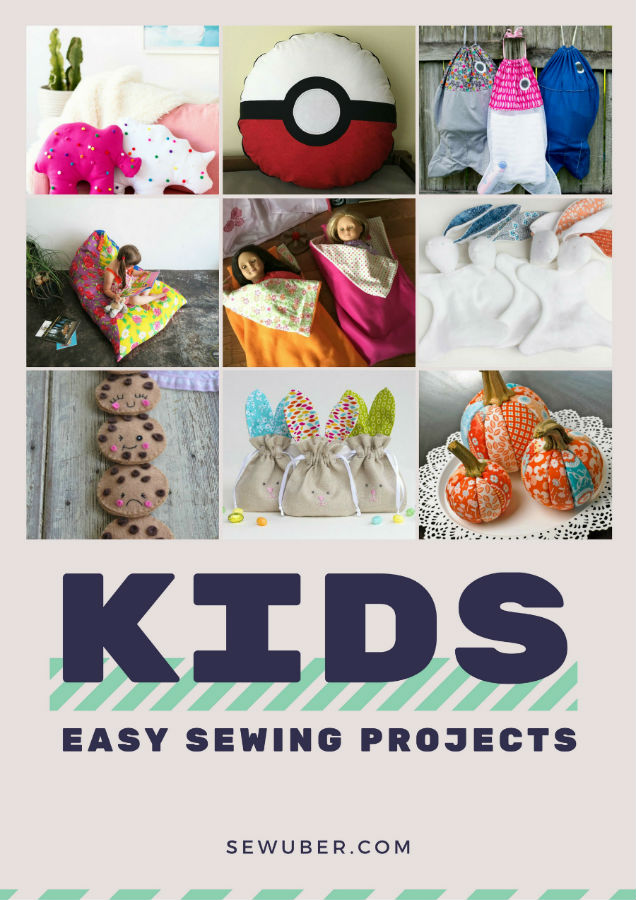 easy sewing projects for kids  u2022 sew uber